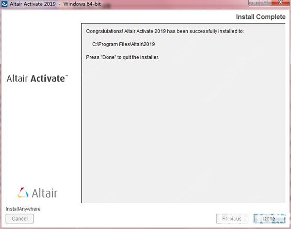 Altair Activate破解版下载